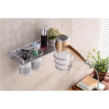 Ktaxon Multifunctional Wall Mount Bathroom Organizer