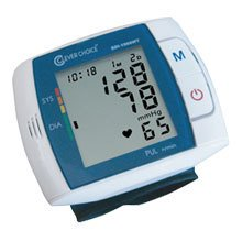 Simple Diagnostics Clever Choice Fully Auto Digital Talking Wrist BP Monitor with 120 Memory