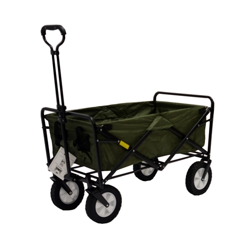 Mac Sports Green Multipurpose Folding Utility Wagon