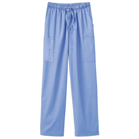 F3 Fundamentals by White Swan Unisex Elastic Waist Cargo Scrub Pant](Halloween Scrubs For Men)