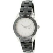 Women's Nolita NY2143 Grey Ceramic Analog Quartz Watch
