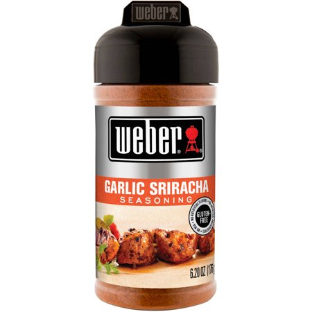 (2 Pack) Weber Garlic Sriracha Seasoning, 6.20 oz - Garlic Edamame Recipe