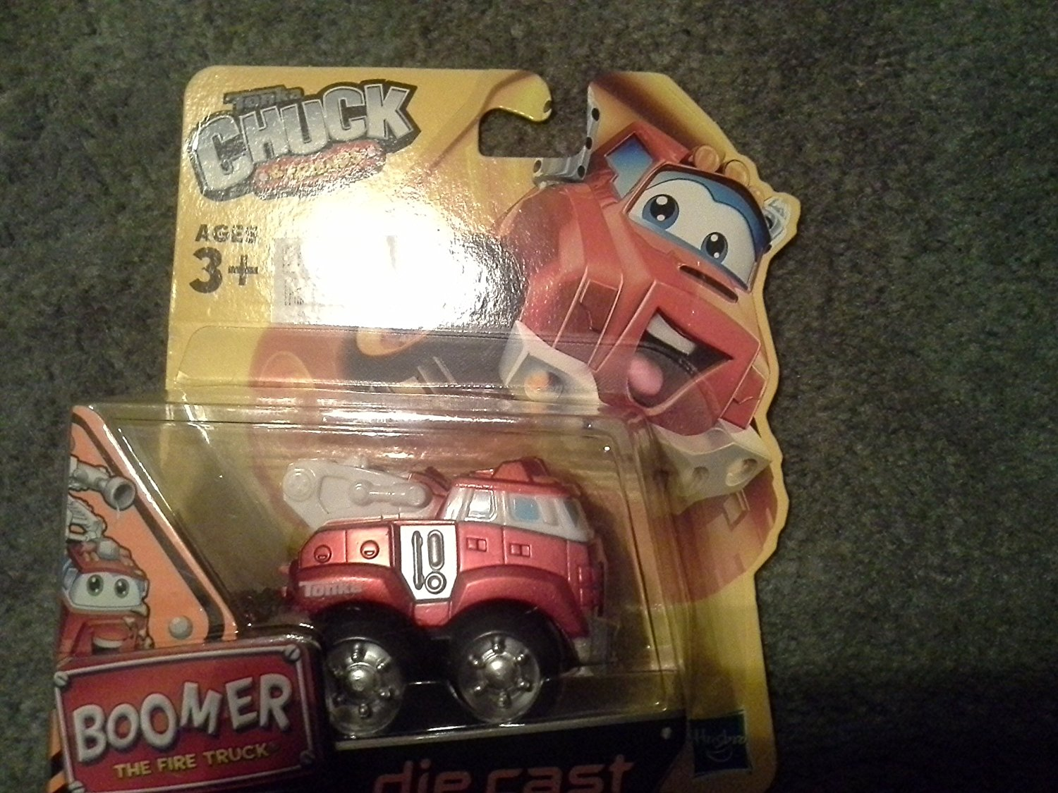 "Tonka Chuck & Friends ""BOOMER the Fire Truck"" die cast Metal Truck, Die Cast... by"
