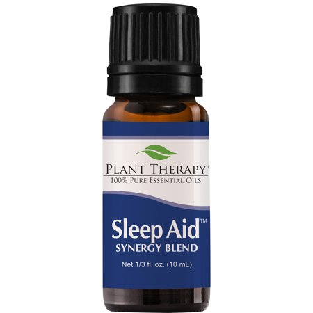 Plant Therapy Essential Oil | Sleep Aid Calming & Sleep Blend | 100% Pure, Undiluted, Natural Aromatherapy | 10 mL(⅓ oz)