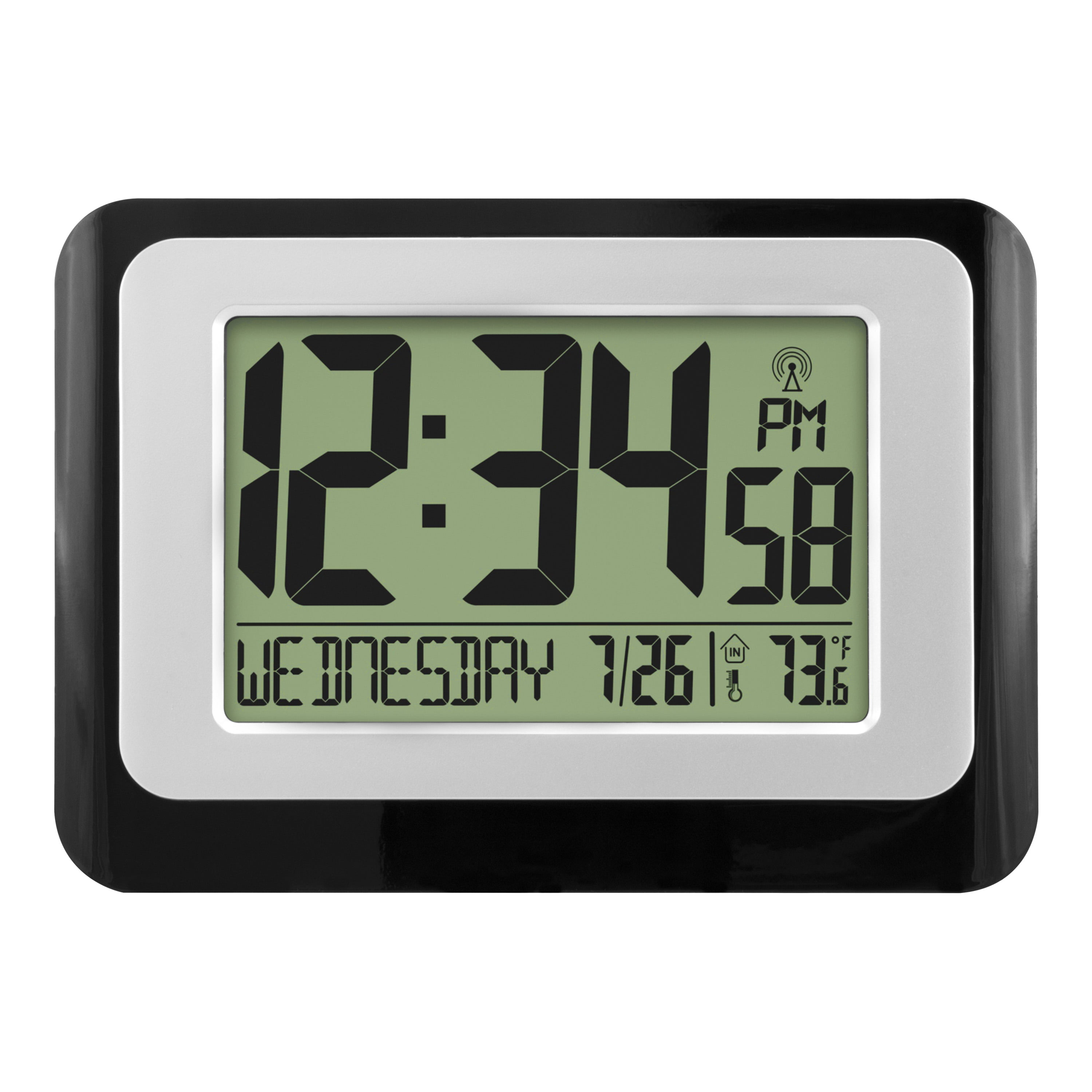 Digital Atomic Calendar Clock with Indoor Temperature by La Crosse Technology Ltd.