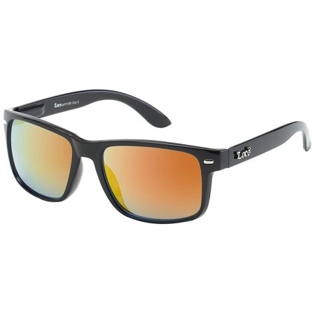 New Locs Gangster Style Hardcore Shades Sunglasses With plastic Frame Mens (Loc Styles Men)