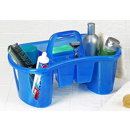 Unique Compartmentalized Bath Caddy, Sapphire Blue - Walmart.com