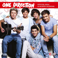 Brown Trout 14 One Direction Wall Calendar