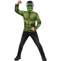 Boys Avengers Endgame Professor Hulk Shirt And Mask Costume