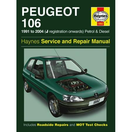Peugeot 106 haynes service and repair manual | #293054798.