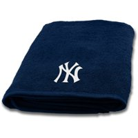 "MLB New York Yankees Cotton 25"" x 50"" Applique Bath Towel, 1 Each"