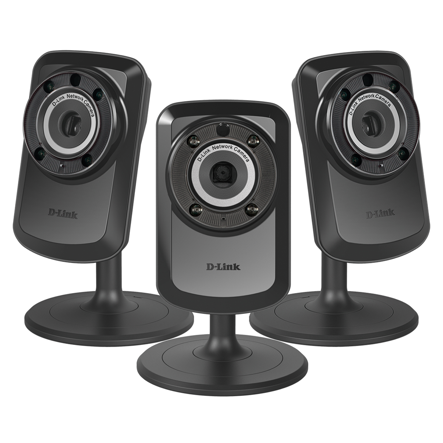 3-PACK D-Link Wireless Day Night WiFi IP Security Camera & Remote View DCS-934L