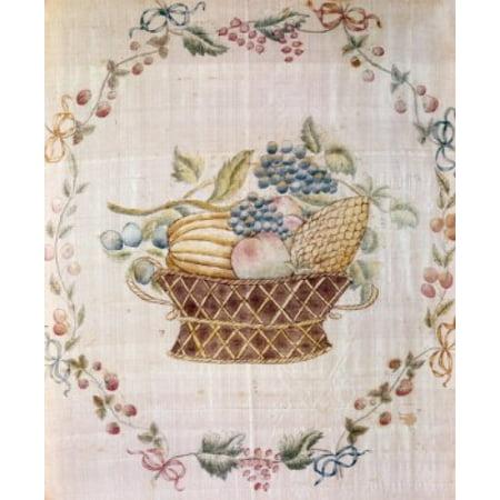 Fruit Still Life - 19th C 19TH C Artist Unknown Canvas Art - (18 x 24)