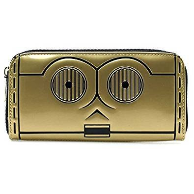 Loungefly STWA0042 C3Po Zip Around Wallet