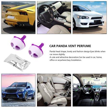 Cute Panda Auto Car Air Freshener Clip Perfume Diffuser for Car Home - image 8 of 13
