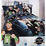 Star Rocket Twin Comforter - WWE 4 pc Twin