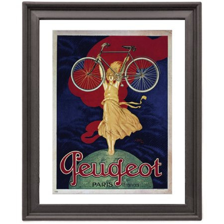 Peugeot Bicycle - Bicycle Peugeot - Picture Frame 8x10 inches - Poster - Print