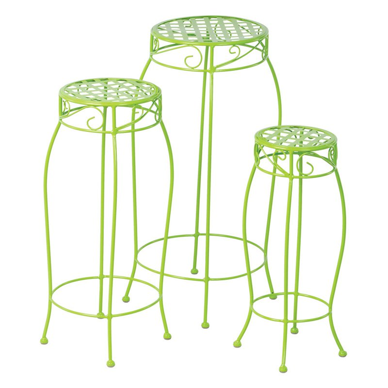 Alfresco Home Martini Plant Stands Set of 3 by Plant Stands