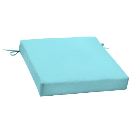 Better Homes and Gardens Outdoor Patio Dining Seat Cushion, Teal ()