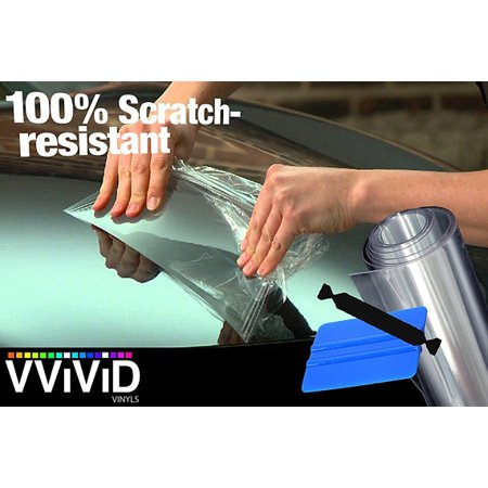 Paint Protection Vinyl Wrap Film | Clear Bra Satin Finish Protective Film  6