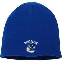 Vancouver Canucks Fanatics Branded Core Knit Beanie - Royal - OSFA