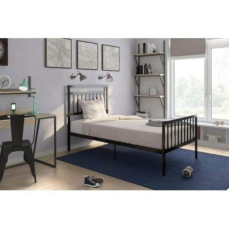 Dhp Jackson Modern Metal Bed Black Multiple Sizes