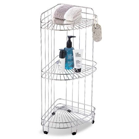 Organize It All 1755 3 Tier Bath Corner Shower Caddy - Walmart.com