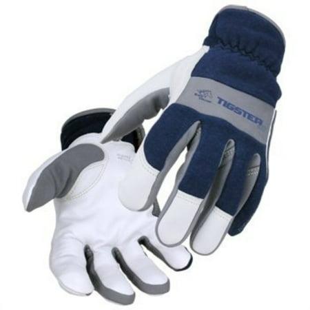 Flame Resistant Gloves - TIGster Premium Flame Resistant Snug Fit Kidskin TIG Welding Gloves - XXL