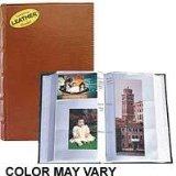 Pioneer Photo Albums CLB346-BR Leather Bi-Directional Album 4X6 3-UP 300 Photo Brown