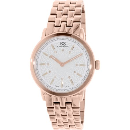 88 Rue Du Rhone Women's 87WA120013 Rose Gold Stainless-Steel Swiss Quartz Fashion Watch