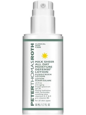 Peter Thomas Roth Max Sheer All Day Moisture Defense Lotion with SPF30, 1.7 Oz