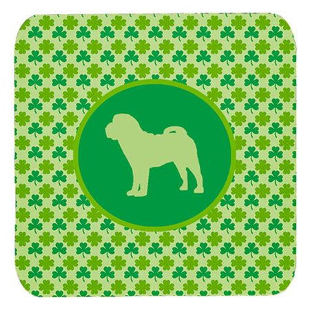 Carolines Treasures SDK1124-C-FC Shar Pei Lucky Shamrock Foam Coasters, Set Of 4 - image 1 of 1