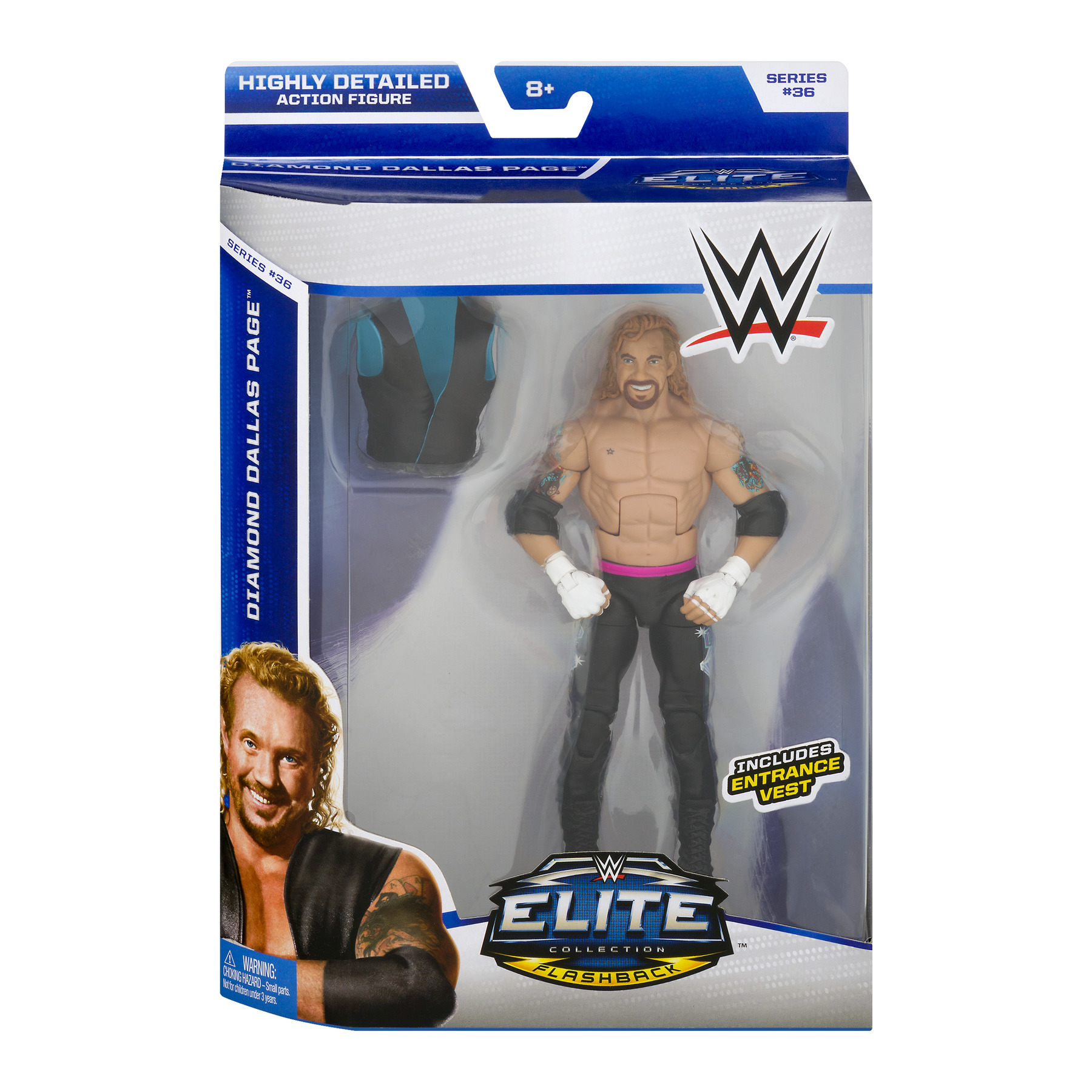 WWE Diamond Dallas Action Figure