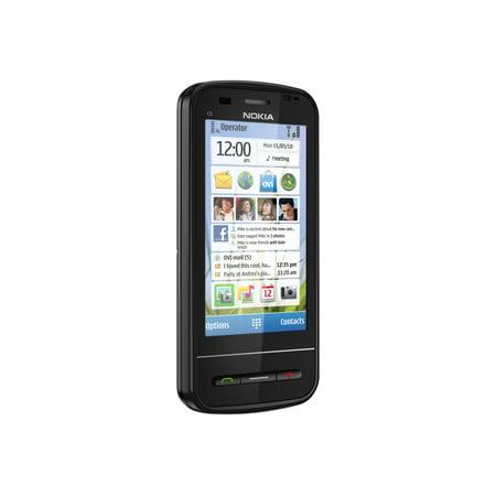 Nokia C6-00 - Smartphone - 3G - microSDHC slot - GSM - 3.2