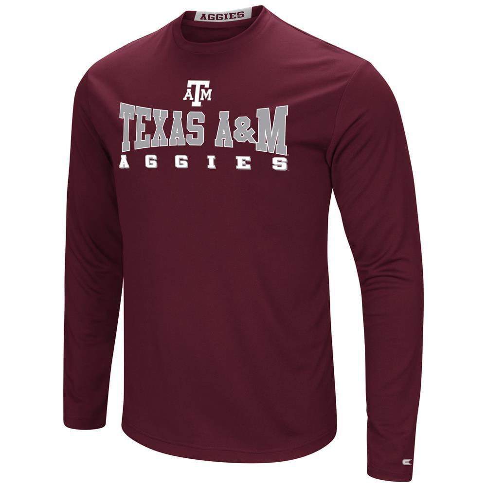 Texas A&M Aggies T-Shirt Performance Long Sleeve Shirt