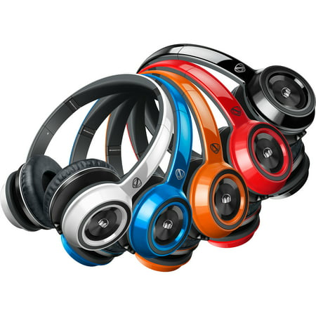 Cherry Headphone - Monster NCredible N-Tune On-Ear Headphones V2 Collection