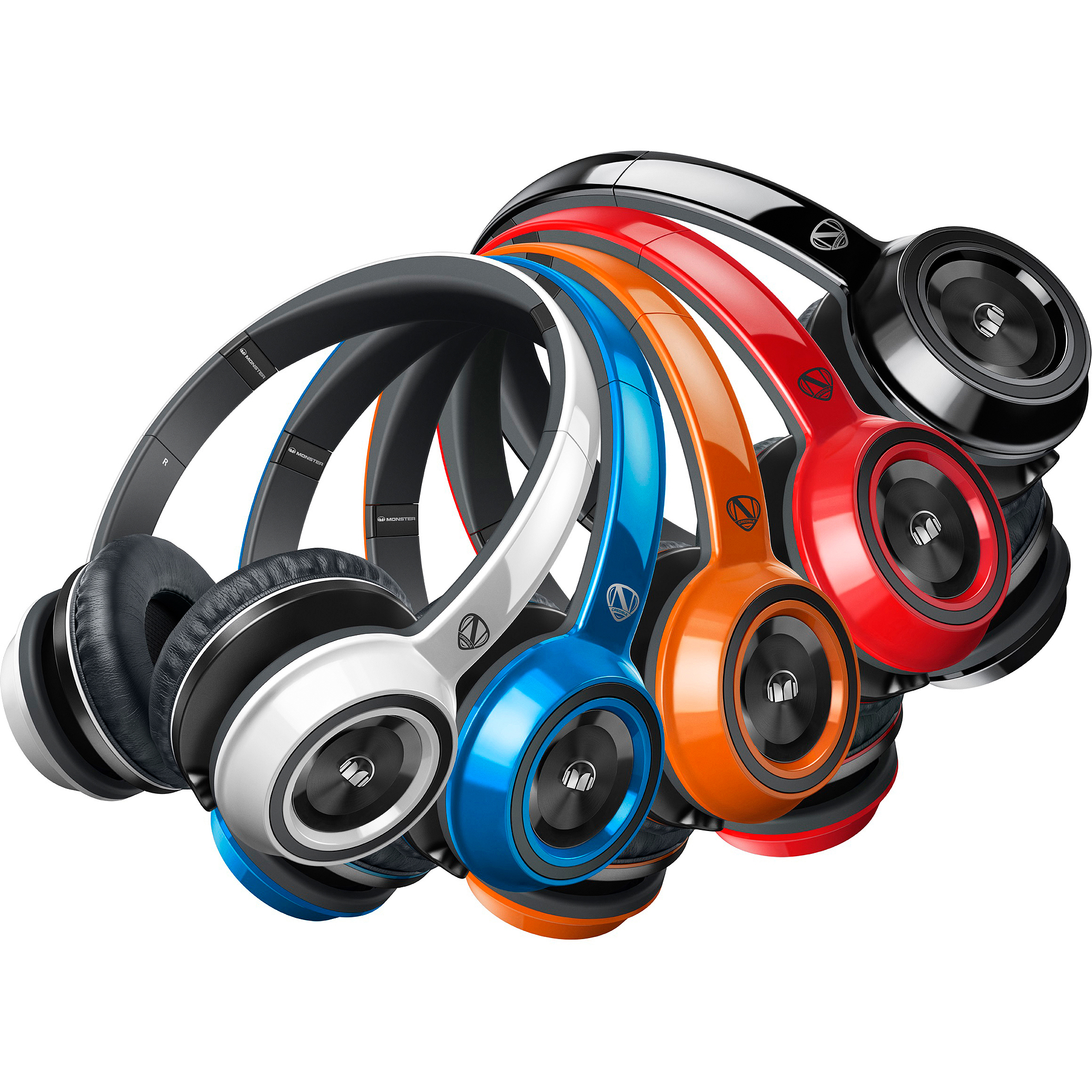 Monster NCredible N-Tune On-Ear Headphones V2 Collection