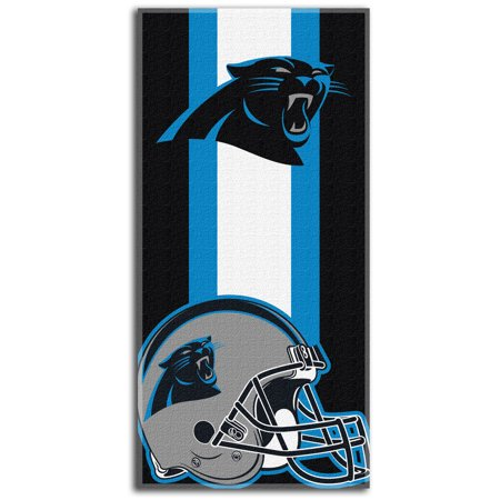 - Carolina Panthers The Northwest Company Zone Read Beach Towel - No Size