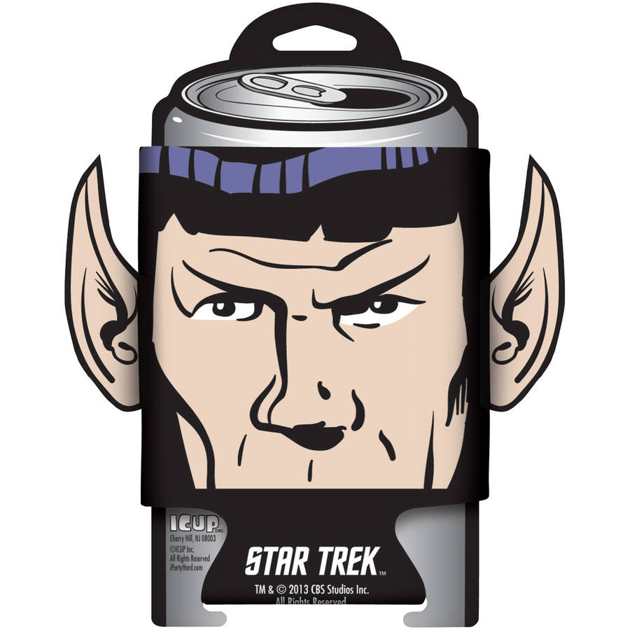 Star Trek Spock Diecut Ears Can Cooler