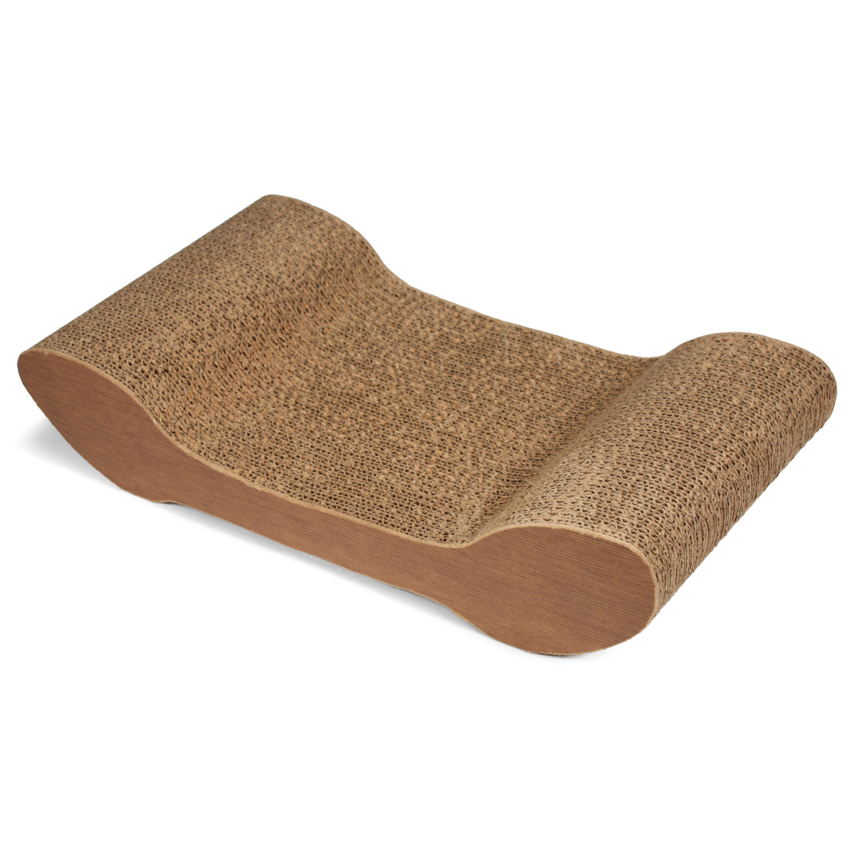 SmartyKat CatChaise Corrugated Cat Scratcher-9.25 Inch X 17.125 In