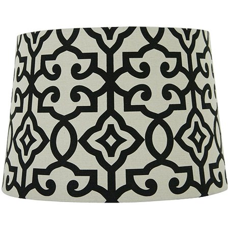 Better homes and gardens irongate lamp shade blackwhite walmart better homes and gardens irongate lamp shade blackwhite aloadofball