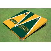 Baylor University Arch Alternating Triangle Cornhole Boards