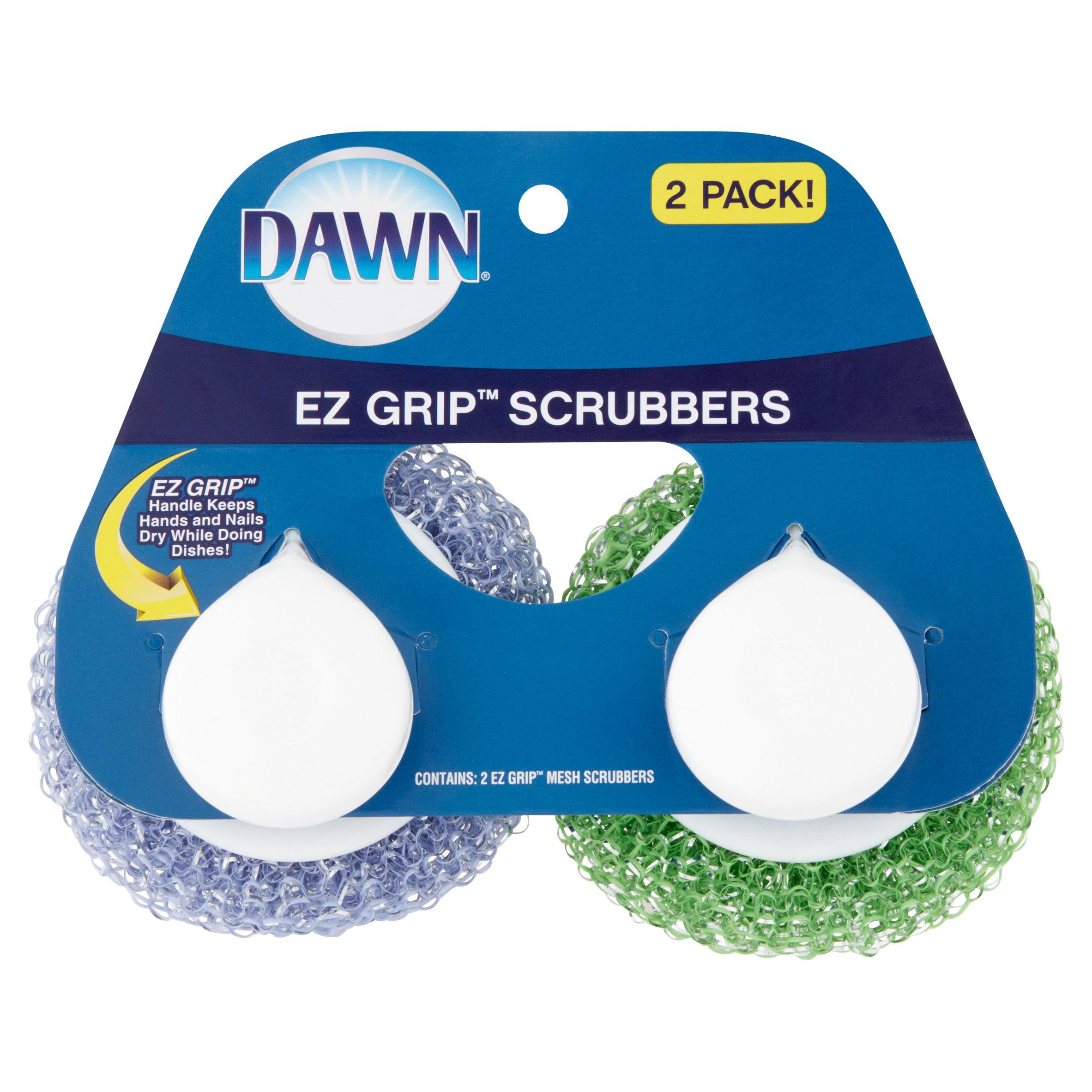 Dawn Ez Grip Scrubbers, 2 pack