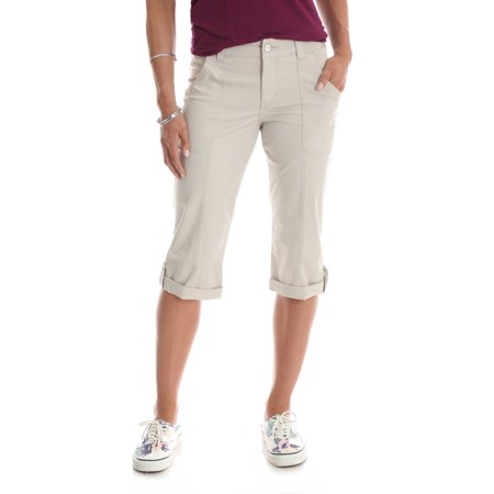 Women's Utility Cargo Pocket Carpi Pants (6 Pocket Capris)