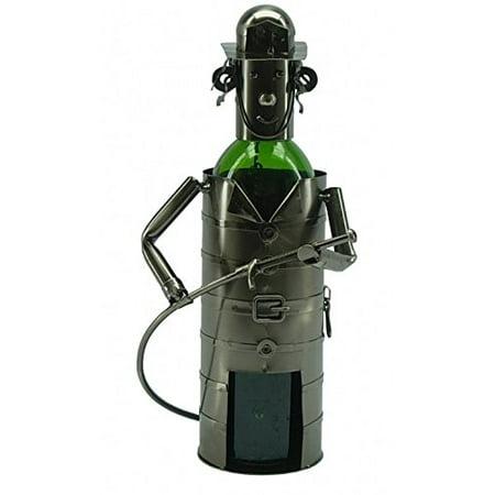 Metal Wine Bottle Holder #48- -