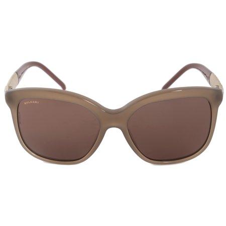 Bvlgari Square Sunglasses BV8155 534973 57 | Opal Grey Frame | Grey (Bulgari Sunglasses Men)