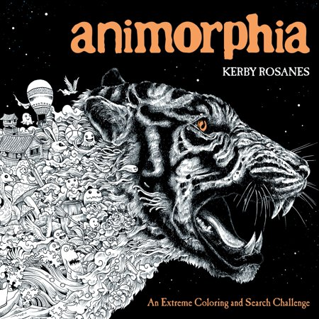 Animorphia : An Extreme Coloring and Search Challenge - Extreme Toys