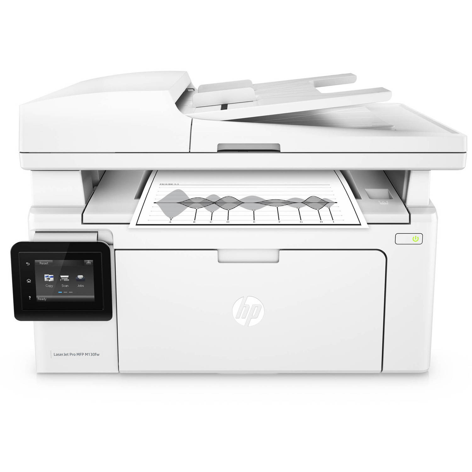 Recertified HP G3Q60AR#BGJ LaserJet Pro MFP M130fw Multifunction Printer/Copier/Scanner/Fax Machine