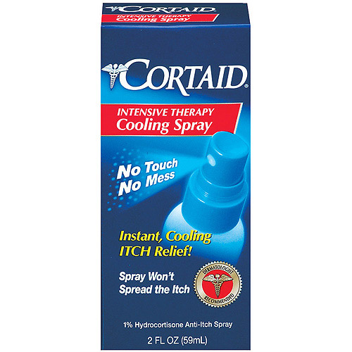 Johnson & Johnson Cortaid  Intensive Therapy Cooling Spray, 2 oz