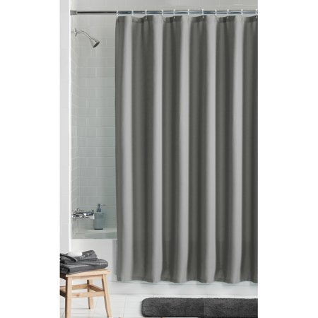 Mainstays Waffle Textured Fabric Shower Curtain As Low 988